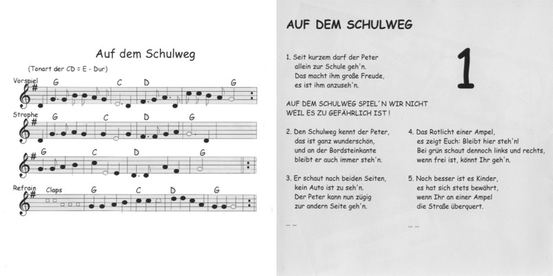 Schulanfang Lied